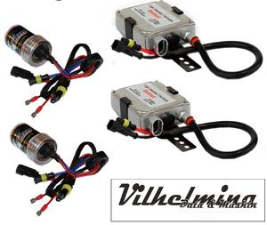 35 watts kit med valfria  Xenonlampor