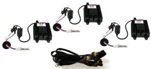 3-pack 75 Watts Xenon Kit inkl reläsats för 3 extraljus