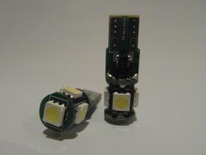 T10 5st 5050SMD lamp 9-32volt