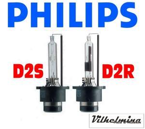 Philips original D2S D2R xenonlampa 2 pack