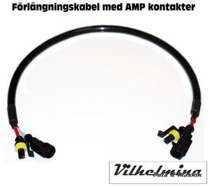 Förlängningskabel AMP kontakter
