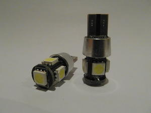 T10 5st 5050SMD Canbus
