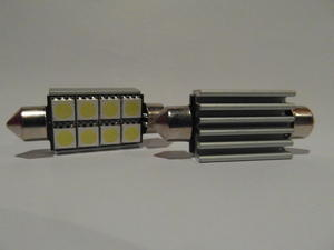 Spollampa 42mm 8st 5050SMD canbus